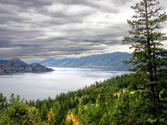 Lake Okanagan, British Columbia, Canada