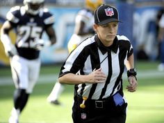 2012: Shannon Eastin is the first female to officiate an NFL game.