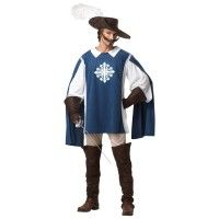 California Costumes Musketeer Set Blue White X Large Best Amp