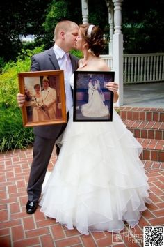 23. The past - 44 #Amazing #Wedding #Photography Ideas to Copy ... → Wedding #Great
