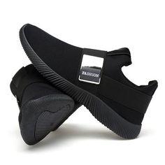 separation shoes 431cb 3a70b Para hombres tela de malla con elástico panel con decoración metálica  zapatillas deportivas de carrera