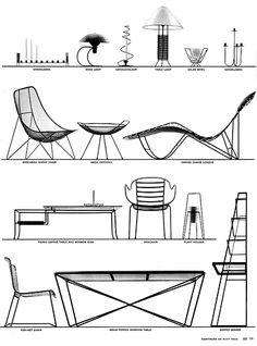 1952 ... minimalist furniture