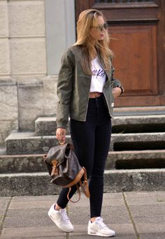 Casual School Outfit Ideas For College Girls 27 Tumblr Outfits, Chic Outfits, Trendy Outfits, Fall Outfits, Fashion Outfits, How To Have Style, My Style, Mode Ootd, Girl Fashion