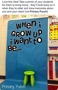 When I grow up..