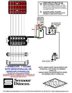 Tele Wiring Diagram, tapped with a 5 way switch | Telecaster Build | Pinterest | Guitar, Guitar