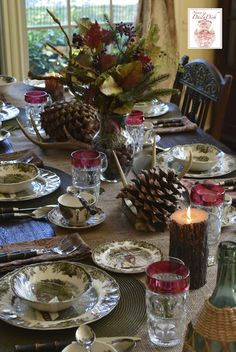 The History of Johnson Brothers and The Friendly Village Tablescape