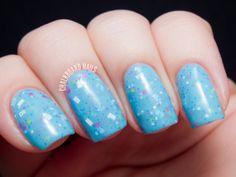 Glam Polish Assortment - Swatch and Review | Chalkboard Nails