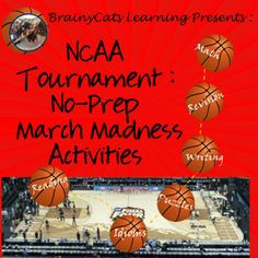 Final Four, Elite Eight, Sweet Sixteen. In March, conversation is peppered with all these terms as focus shifts to the NCAA basketball tournament. Use the excitement surrounding thispopular sporting event to engage students in activities that provide practice in revision, math, writing and reading comprehension.