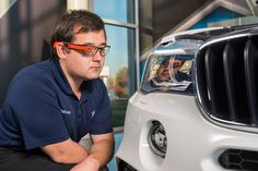 BMW group test google glass to ensure quality assurance in production