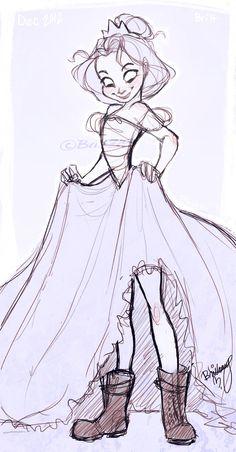 "More of my ""Not so princess-like"" princess."