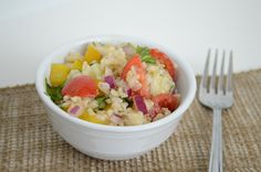 Brown Rice Summer Salad | Sweet Hersey Living