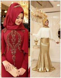 2019 Trend Tesettür Abiye Modelleri - Güzel Sözler Fashion, Moda, Fashion Styles, Fashion Illustrations