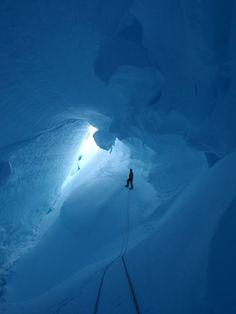 British Antarctic Survey - Rothera Research Station - Stork Bowl crevasse