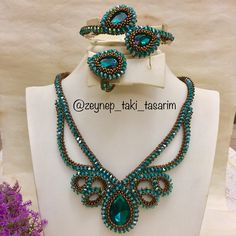 Image may contain: jewelry Macrame Jewelry, Diy Jewelry, Jewelery, Jewelry Necklaces, Handmade Jewelry, Jewelry Design, Seed Bead Necklace, Beaded Necklace, Cosmetic Shop