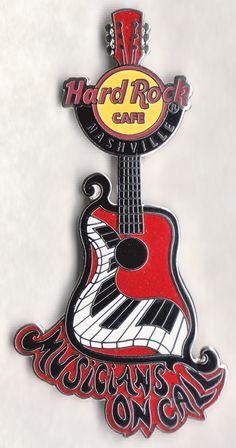 Guitar Pins, Hard Rock, Nashville, Hard Rock Music