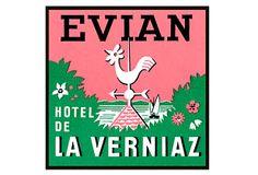 Evian Print on OneKingsLane.com