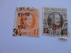 192? 1c, 2c remarked 3c Postage Stamp From Belgique/Belgie.