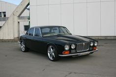 1972 Jaguar XJ Hotrod, 476 hp, Nitro, 5,7 V8, rebuilt