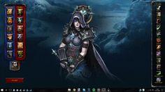 World of Warcraft Rainmeter Interactive Wallpaper #worldofwarcraft #blizzard #Hearthstone #wow #Warcraft #BlizzardCS #gaming