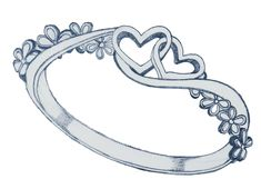 Ryl Skipton's kissing ring, made by Merryn Pendennis Kissing, Fairy, Bed, Rings, Stream Bed, Ring, Jewelry Rings, Beds, Bedding