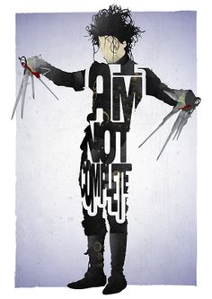 Not Complete - Edward Scissorhands | 17th and Oak - film, music and personalised gifts