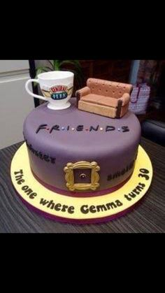 Friends Tv Show Theme Cake I Need This For My 40th