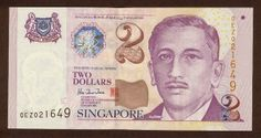 Singapore banknotes 5 Dollars banknote Portrait Series Singapore dollar, Singapore banknotes, Singapore paper money, Singapore bank notes, Singapore dollar bills - world banknotes money currency pictures gallery. Singapore School, Singapore City, All About Singapore, Singapore Dollar, Golden Number, Money Notes, Dollar Coin, Dollar Bills, Bugs