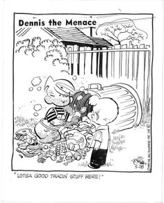 Dennis The Menace Daily By Hank Ketcham ('59)