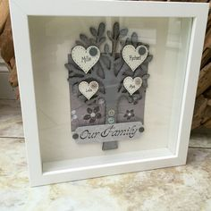 Handmade Personalised Family Tree Picture by EverythingIsTuesday