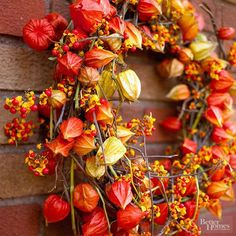 Gorgeous Natural Fall Wreaths you can make.