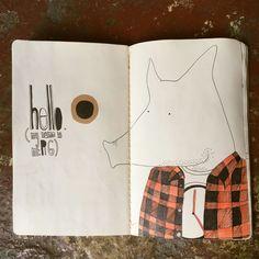 Sketchbook by Katarzyna Rojek