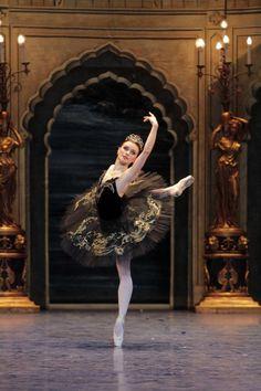 "Irina Dvorovenko as Odile in ""Swan Lake"" (American Ballet Theatre)"