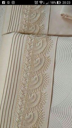 "Diy Crafts - Pike takımı ""This post was discovered by Fatma Korkmaz. Discover (and save!) your own Posts on Unirazi. Crochet Lace Edging, Crochet Borders, Filet Crochet, Crochet Doilies, Diy Crafts Crochet, Crochet Symbols, Vintage Crochet Patterns, Linens And Lace, Embroidery For Beginners"