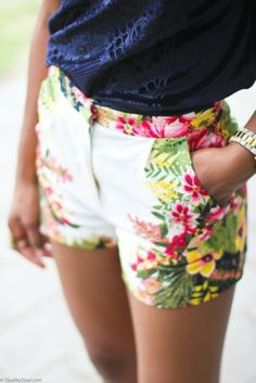 Printed Shorts to Live in All Summer Long