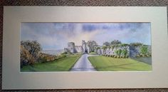 Jayne Russell Art  Manorbier Castle, Pembrokeshire