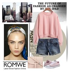 """""""romwe contest"""" by tiko-riko ❤ liked on Polyvore featuring Dolce&Gabbana, Lucky Brand, Converse and M.N.G"""