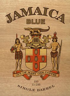 Jamaica Blue Premium Coffee - Simon™ / Luxury Goods Branding