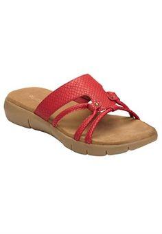 Plus Size Wip Away Sandal