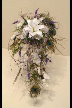Peacock bouquet :o)