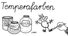 Malrezepte: Temperafarben selber anrühren - Zzzebra, das Web-Magazin für Kinder | Labbé Verlag
