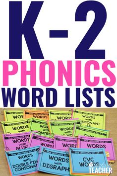 Are you looking for the Ultimate List of Phonics words? Phonics word lists make teaching and practicing phonics so much easier! Every reading teacher needs this ultimate set of phonics word lists to help make phonics instruction a breeze! Use them in your K-2 classroom right at your fingertips! Phonics Rules, Phonics Words, Teaching Phonics, Phonics Activities, Teaching Strategies, Kindergarten Reading, Teaching Reading, Learning, Phonemic Awareness Kindergarten