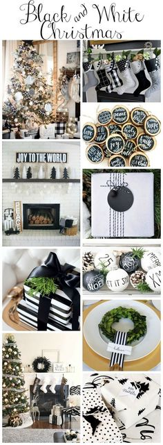 stunning-black-and-white-christmas-style-series-black-and-white-decor-diys-inspiration