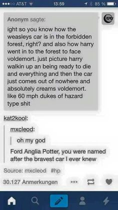 Ford Anglia Potter.