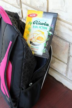 Cold/flu season tip: keep some of these Ricola Dual Action Honey Lemon Drops in your travel bag! I was speaking at a conference over the weekend and these saved me (dumb cold) - great combo of cough and sore throat relief. The new honey lemon flavor will be in stores in October 2015!  #swissherbs #sponsored