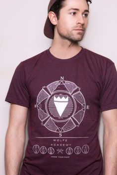 Found Screenprinted Tee by WolfeAcademy on Etsy, £27.00