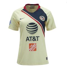 76b7dc4b0 Mexico Club America 18 19 Home Women s Soccer Jersey Personalized Name and  Number. Club AmericaCheap ...