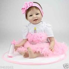 cool Simulation Baby Rebirth Doll Girl Toy Baby lifelike reborn Realistic Soft Vinyl - For Sale Check more at http://shipperscentral.com/wp/product/simulation-baby-rebirth-doll-girl-toy-baby-lifelike-reborn-realistic-soft-vinyl-for-sale/