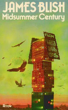 science70: James Blish Midsummer Century (Arrow edition 1975). Cover art: Chris Foss
