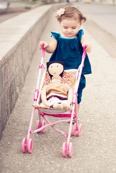 Pimp My Stroller PDF Pattern and Tutorial--this is exactly what I need to fix my daughters baby doll stroller.