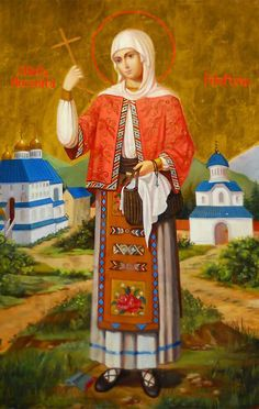 Martyr Filofteia of Arges (A Saint who helps the abused children) Religious Icons, Religious Art, Saint Joan Of Arc, Medieval Crafts, Christian Prayers, Les Religions, Best Icons, Byzantine Icons, Russian Orthodox